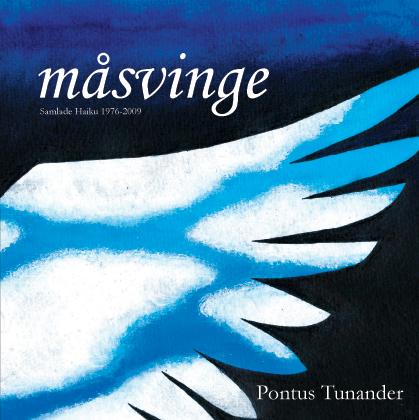 Omslag till Pontus Tunanders måsvinge