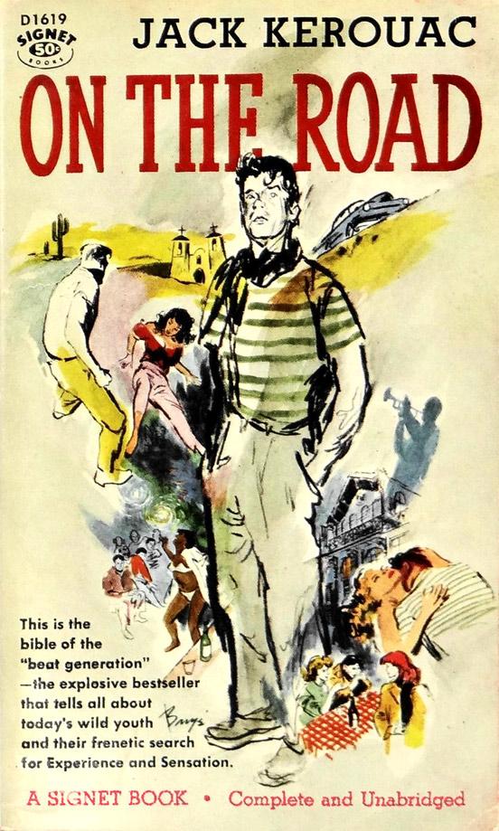 Omslag till Jack Kerouacs roman On the Road