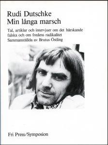 Bild: omslaget till Rudi Dutschke, Min långa marsch